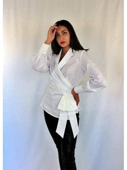 Camisa Blanca Flora